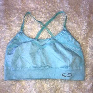 Light Blue Champion Sports Bra